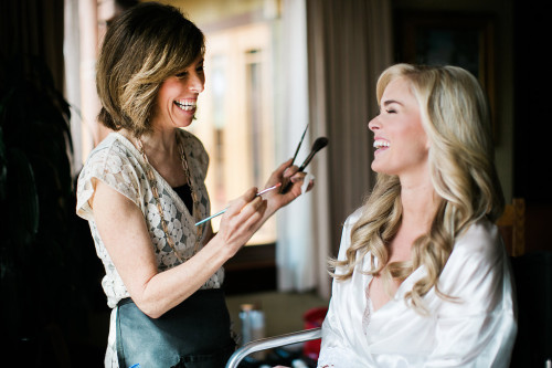 airbrush makeup for torrey pines lodge wedding