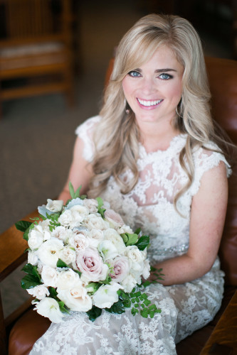 makeup and hair for Torrey Pines Lodge wedding